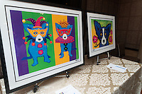 George Rodrigue exhibit and benefit with Susan Krohn