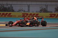 29th November 2019; Yas Marina Circuit, Abu Dhabi, United Arab Emirates; Formula 1 Abu Dhabi Grand Prix, practice day; Scuderia Ferrari, Sebastian Vettel - Editorial Use