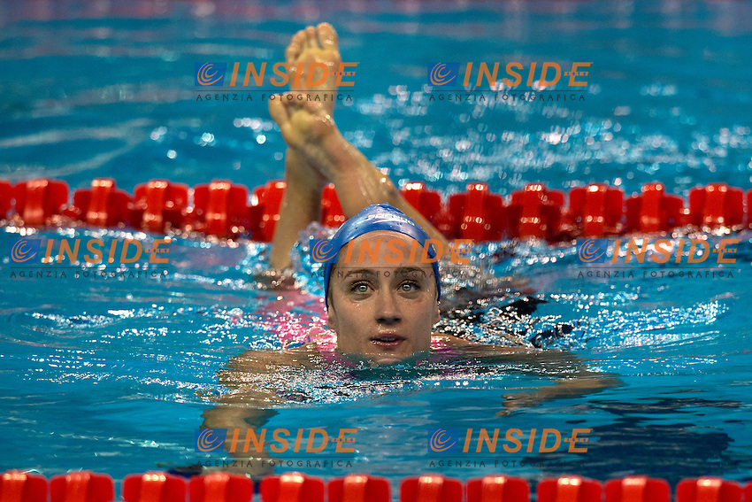 BELMONTE GARCIA Mireya ESP Gold Medal Women's 400m Freestyle <br /> Doha Qatar 05-12-2014 Hamad Aquatic Centre, 12th FINA World Swimming Championships (25m). Nuoto Campionati mondiali di nuoto in vasca corta.<br /> Photo Andrea Staccioli/Deepbluemedia/Insidefoto