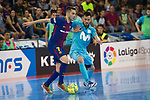 League LNFS 2017/2018.<br /> PlayOff Final-Game 4.<br /> FC Barcelona Lassa vs Movistar Inter FS: 3-3.<br /> FCB por penaltys.<br /> Dyego vs Rafael Rato.