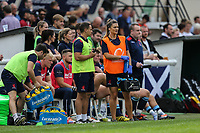 General view of play during the Greene King IPA Championship match between London Scottish Football Club and Ealing Trailfinders at Richmond Athletic Ground, Richmond, United Kingdom on 8 September 2018. Photo by David Horn.