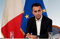 Luigi Di Maio<br /> Roma 15/10/2018. Consiglio dei Ministri sulla Manovra Economica DEF.<br /> Rome October 15th 2018. Minister's Cabinet about the Economic and Financial Document.<br /> Foto Samantha Zucchi Insidefoto