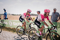 Rigoberto Uran (COL/EducationFirst-Drapac) on pav&eacute; sector #3<br /> <br /> Stage 9: Arras Citadelle &gt; Roubaix (154km)<br /> <br /> 105th Tour de France 2018<br /> &copy;kramon