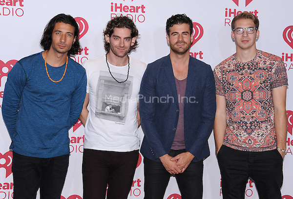 LAS VEGAS, NV - SEPTEMBER 19:  MAGIC! at the 2014 iHeartRadio Music Festival at the MGM Grand Garden Arena on September 19, 2014 in Las Vegas, Nevada. PGSK/MediaPunch