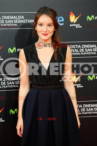 French actress Anais Demoustier presents the film 'The New Girlfriend' during the 62st San Sebastian Film Festival in San Sebastian, Spain. September 20, 2014. (ALTERPHOTOS/Caro Marin) /NortePhoto.com /NortePhoto.com