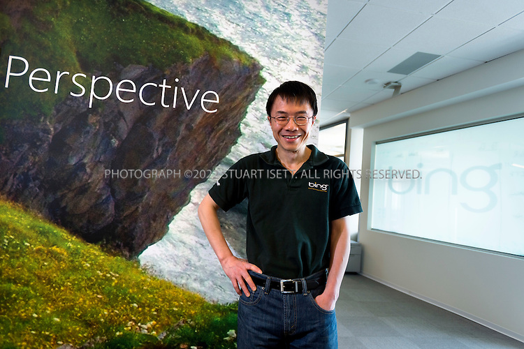 5/7/2012--Seattle, WA, USA..Qi Lu (President, Online Services Division),  at Microsoft's Bellevue offices. Microsoft's Bing search tool was unveiled by Microsoft CEO Steve Ballmer on May, 2009...©2012 Stuart Isett. All rights reserved.