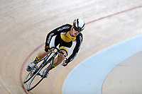 Louis Hodgkinson of Wellington competes in the U17 Boys sprint at the Age Group Track National Championships, Avantidrome, Home of Cycling, Cambridge, New Zealand, Friday, March 17, 2017. Mandatory Credit: © Dianne Manson/CyclingNZ  **NO ARCHIVING**