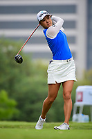 Minjee Lee (AUS) watches her tee shot on 3 during round 3 of  the Volunteers of America Texas Shootout Presented by JTBC, at the Las Colinas Country Club in Irving, Texas, USA. 4/29/2017.<br /> Picture: Golffile | Ken Murray<br /> <br /> <br /> All photo usage must carry mandatory copyright credit (&copy; Golffile | Ken Murray)