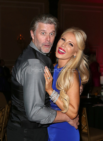 LOS ANGELES, CA - NOVEMBER 9: Slade Smiley, Gretchen Rossi, at the 2nd Annual Vanderpump Dog Foundation Gala at the Taglyan Cultural Complex in Los Angeles, California on November 9, 2017. Credit: November 9, 2017. Credit: Faye Sadou/MediaPunch