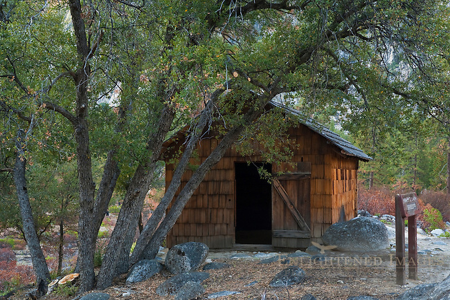 Knapp's Cabin, near Cedar Grove, Kings Canyon National Park, California