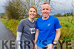 Olivia O'Rahilly and Aidan McCarthy attending the Kerrie Browne memorial 5K Walk and Run in Brosna on Sunday.
