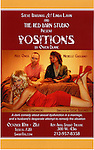 Poster for The Red Barn Studio Theatre Off-Broadway production of 'Positions' at the Roy Arias Studio Theatre on October 10, 2012 in New York City.