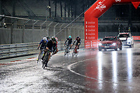 PICTURE BY MARK GREEN/SWPIX.COM ATP  Tour of Abu Dhabi - Yas Island Stage, UAE, 26/02/17<br /> In the wet at the Yas Marina stage of the 2017 Tour of Abu Dhabi