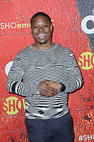 "LOS ANGELES - FEB 2:  Jason Mitchell at the For Your Consideration Event For ""The Chi"" at the DGA Theater  on February 2, 2018 in Los Angeles, CA"
