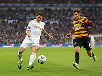 Pictured:  Angel Rangel (L). Sunday 24 February 2013<br />