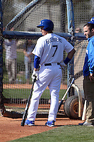 Alex Guerrero - Los Angeles Dodgers 2014 spring training (Bill Mitchell)