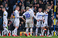 Leeds United's Kiko Casillas takes his gloves and jersey off after receiving a red card<br /> <br /> Photographer Alex Dodd/CameraSport<br /> <br /> The EFL Sky Bet Championship - Leeds United v Sheffield United - Saturday 16th March 2019 - Elland Road - Leeds<br /> <br /> World Copyright © 2019 CameraSport. All rights reserved. 43 Linden Ave. Countesthorpe. Leicester. England. LE8 5PG - Tel: +44 (0) 116 277 4147 - admin@camerasport.com - www.camerasport.com