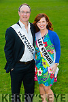 Kevin Boyle and Fiona O'Connor contestants at the Austin Stacks GAA club Launch of Strictly Come Dancing 2015 at the Festival Dome on Saturday 22nd  August at 8pm