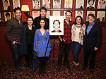 James Barbour with the cast of 'Phantom of the Opera' attends his Top Secret portrait unveiling at Sardi's on March 10, 2017 in New York City.