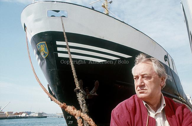 Cees Nootebom Dutch writer in 1990.