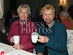 Deirdre Daly and Sheelagh Bowers at the coffee morning in Annesbrook House Duleek in aid of St. Peters Church of Ireland Drogheda. Photo:Colin Bell/pressphotos.ie