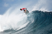 ADRIANO DE SOUZA  (BRA) TEAHUPOO, Tahiti (Tuesday, May 19, 2009) - The 2009 Billabong Pro Tahiti presented by Air Tahiti Nui was won  today  by American surfer BOBBY MARTINEZ (USA) with Australian TAJ BURROW (AUS)  as runner up. Starting at 9 am the contest ran through to the lat afternoon final in 1.5 meter waves.. Basque surfer ARTIZ ARANBURU (EUK) and MICHAEL CAMPBELL (AUS) finished in = 3rd place..The event was Stop No. 3 of 10 on the 2009 ASP World Tour and boasted a waiting period from May 9 through May 20, 2009..The contest brought together 45 of the world's best surfers charging the heaviest wave on earth in one of the most pristine locations on the planet..This year's event will ran with the new format, seeding all competitors directly into man-on-man elimination heats, with the Top 16 seeded directly into Round 2 while the remaining surfers battle it out in Round 1...Photo: joliphotos.com