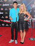 Chelsie Hightower and  Roshon Fegan at Marvel's The Avengers World Premiere held at The El Capitan Theatre in Hollywood, California on April 11,2012                                                                               © 2012 DVS/Hollywood Press Agency