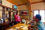 Kiler Ridge Olive Farm in Paso Robles, CA. Gregg Bone's wife, Audrey, leads the olive oil tasting