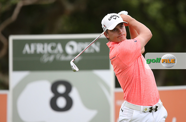 Haydn Porteus (RSA) drives the 8th during Round One of the Africa Open 2015 at the East London Golf Club, East London, Eastern Cape, South Africa. Picture:  David Lloyd / www.golffile.ie. 05/03/2015