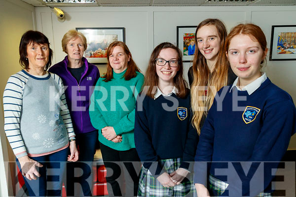 Pictured on Friday last, Tralee Girl Guides and their mentors; Phyllis O'Herlihy, Pauline Carroll, Sandra Gutteridge, Kerri O'Connor, Patricia Gutteridge and Eleanor Moloney, who went on a life changing trip to India last August and inspired them to become more environmentally friendly.