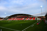 A general view of Highbury Stadium, home of Fleetwood Town FC<br /> <br /> Photographer Richard Martin-Roberts/CameraSport<br /> <br /> The EFL Sky Bet League One - Fleetwood Town v Portsmouth - Saturday 29th December 2018 - Highbury Stadium - Fleetwood<br /> <br /> World Copyright &copy; 2018 CameraSport. All rights reserved. 43 Linden Ave. Countesthorpe. Leicester. England. LE8 5PG - Tel: +44 (0) 116 277 4147 - admin@camerasport.com - www.camerasport.com