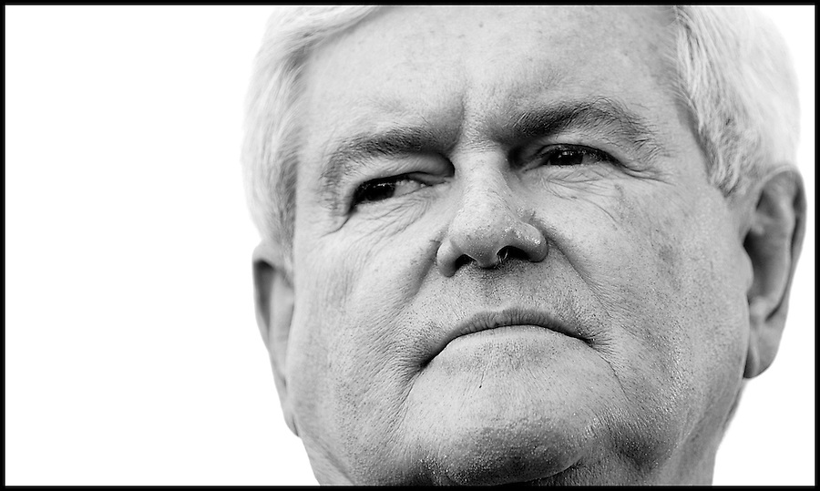 Former House speaker and Republican presidential candidate Newt Gingrich speaks during a campaign stop in Tampa, Florida, USA, 23 January 2012. Republican candidates will campaign in Florida in the lead up to the Florida Primary on 31 January 2012.