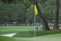 Alex Noren (SWE) and Sergio Garcia (ESP) make their way down 9 during round 4 of The Players Championship, TPC Sawgrass, at Ponte Vedra, Florida, USA. 5/13/2018.<br /> Picture: Golffile | Ken Murray<br /> <br /> <br /> All photo usage must carry mandatory copyright credit (&copy; Golffile | Ken Murray)