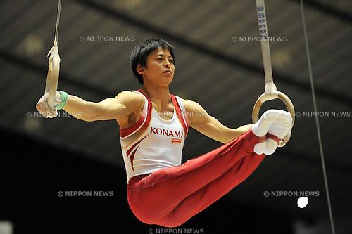 Kenya Kobayashi (JPN), .APRIL 7, 2012 - Artistic gymnastics : The 66nd All Japan Gymnastics Championship Individual All-Around , Men's Individual 1st day at 1st Yoyogi Gymnasium, Tokyo, Japan. (Photo by Jun Tsukida/AFLO SPORT) [0003].