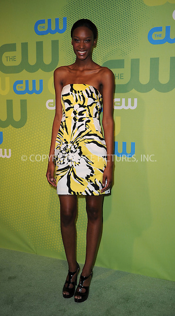 WWW.ACEPIXS.COM . . . . . ....May 21 2009, New York City....Americas Next Top Model Teyona Anderson arriving at the 2009 The CW Network UpFront at Madison Square Garden on May 21, 2009 in New York City.....Please byline: KRISTIN CALLAHAN - ACEPIXS.COM.. . . . . . ..Ace Pictures, Inc:  ..tel: (212) 243 8787 or (646) 769 0430..e-mail: info@acepixs.com..web: http://www.acepixs.com