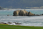 18th Fairway at Pebble Beach Golf Course, Carmel Bay
