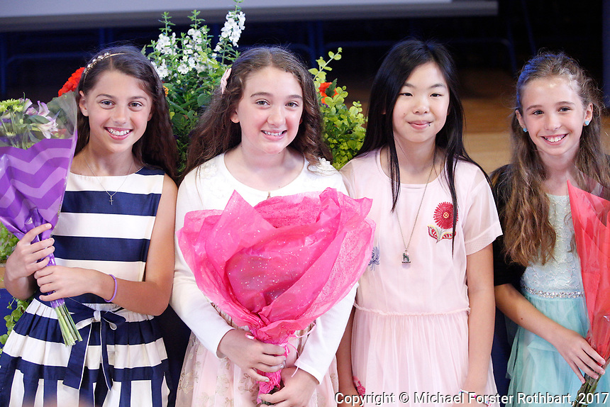 The Oneonta Greater Plains elementary school fifth grade awards ceremony, on June 21, 2017.<br /> &copy; Michael Forster Rothbart Photography<br /> www.mfrphoto.org &bull; 607-267-4893<br /> 34 Spruce St, Oneonta, NY 13820<br /> 86 Three Mile Pond Rd, Vassalboro, ME 04989<br /> info@mfrphoto.org<br /> Photo by: Michael Forster Rothbart<br /> Date:  6/21/2017<br /> File#:  Canon &mdash; Canon EOS 5D Mark III digital camera frame C19473