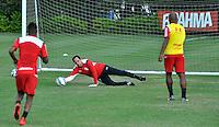 SÃO PAULO,SP, 20.05.2015 - FUTEBOL-SÃO PAULO - Rogerio Ceni do São Paulo durante o treinamento do São Paulo no CT da Barra Funda, região oeste de São Paulo, nesta quarta-feira 20. (Foto: Bruno Ulivieri/ Brazil Photo Press)