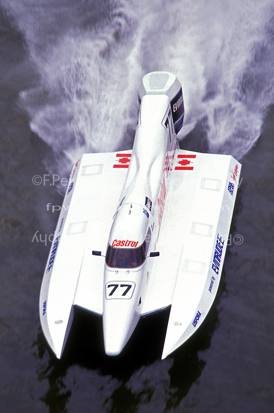 #77 USFORA Formula One (F1) Tunnel Boats, Cincinnati, Ohio 1989
