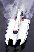 #77 USFORA Formula One (F1) Tunnel Boats, Cincinnati, Ohio 1989