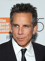 NEW YORK, NY - OCTOBER 01:Ben Stiller attends the New York Film Festival screening of The Meyerowitz Stories (New and Selected) at Alice Tully Hall on October 1, 2017 in New York City. <br /> CAP/MPI/JP<br /> &copy;JP/MPI/Capital Pictures