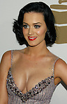 BEVERLY HILLS, CA. - February 07: Singer Katy Perry arrives at the 2009 GRAMMY Salute To Industry Icons honoring Clive Davis at the Beverly Hilton Hotel on February 7, 2009 in Beverly Hills, California.