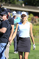 Kelly Rohrbach part of the 3M Celebrity Challenge during Wednesday's Pracitce Day of the 2018 AT&amp;T Pebble Beach Pro-Am, held over 3 courses Pebble Beach, Spyglass Hill and Monterey, California, USA. 7th February 2018.<br /> Picture: Eoin Clarke | Golffile<br /> <br /> <br /> All photos usage must carry mandatory copyright credit (&copy; Golffile | Eoin Clarke)