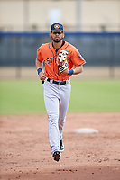 Houston Astros Carlos Machado (1) during a Minor League Spring Training Intrasquad game on March 28, 2018 at FITTEAM Ballpark of the Palm Beaches in West Palm Beach, Florida.  (Mike Janes/Four Seam Images)