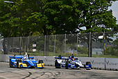 Verizon IndyCar Series<br /> Chevrolet Detroit Grand Prix Race 2<br /> Raceway at Belle Isle Park, Detroit, MI USA<br /> Sunday 4 June 2017<br /> Scott Dixon, Chip Ganassi Racing Teams Honda, Marco Andretti, Andretti Autosport with Yarrow Honda<br /> World Copyright: Scott R LePage<br /> LAT Images<br /> ref: Digital Image lepage-170604-DGP-9379