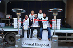 the Launch of the annual Homeless aid sleep out in West street..Picture Fran Caffrey/www.newsfile.ie.