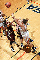SAN ANTONIO, TX - OCTOBER 28, 2016: The University of Texas at San Antonio Roadrunners defeat the Texas A&M International University<br /> Dustdevils 75-34 at the UTSA Convocation Center. (Photo by Jeff Huehn)