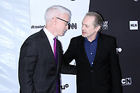 NEW YORK, NY - May 16 : Anderson Cooper Steve Buscemi at Turner Upfront 2018 at Madison Square Garden in New York. May 16, 2018 Credit:/RW/MediaPunch