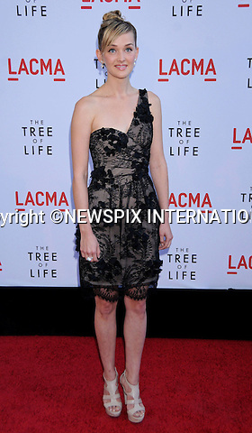 "JESS WEIXLER.attends the Los Angeles Premiere of ""The Tree Of Life"" held at the Bing Theatre, LACMA, Los Angeles, California_24/05/2011.Mandatory Photo Credit: ©Crosby/Newspix International..**ALL FEES PAYABLE TO: ""NEWSPIX INTERNATIONAL""**..PHOTO CREDIT MANDATORY!!: NEWSPIX INTERNATIONAL(Failure to credit will incur a surcharge of 100% of reproduction fees)..IMMEDIATE CONFIRMATION OF USAGE REQUIRED:.Newspix International, 31 Chinnery Hill, Bishop's Stortford, ENGLAND CM23 3PS.Tel:+441279 324672  ; Fax: +441279656877.Mobile:  0777568 1153.e-mail: info@newspixinternational.co.uk"