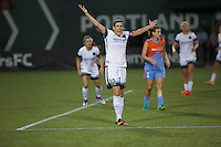 Portland, OR - Wednesday Sept. 07, 2016: Christine Sinclair during a regular season National Women's Soccer League (NWSL) match between the Portland Thorns FC and the Houston Dash at Providence Park.
